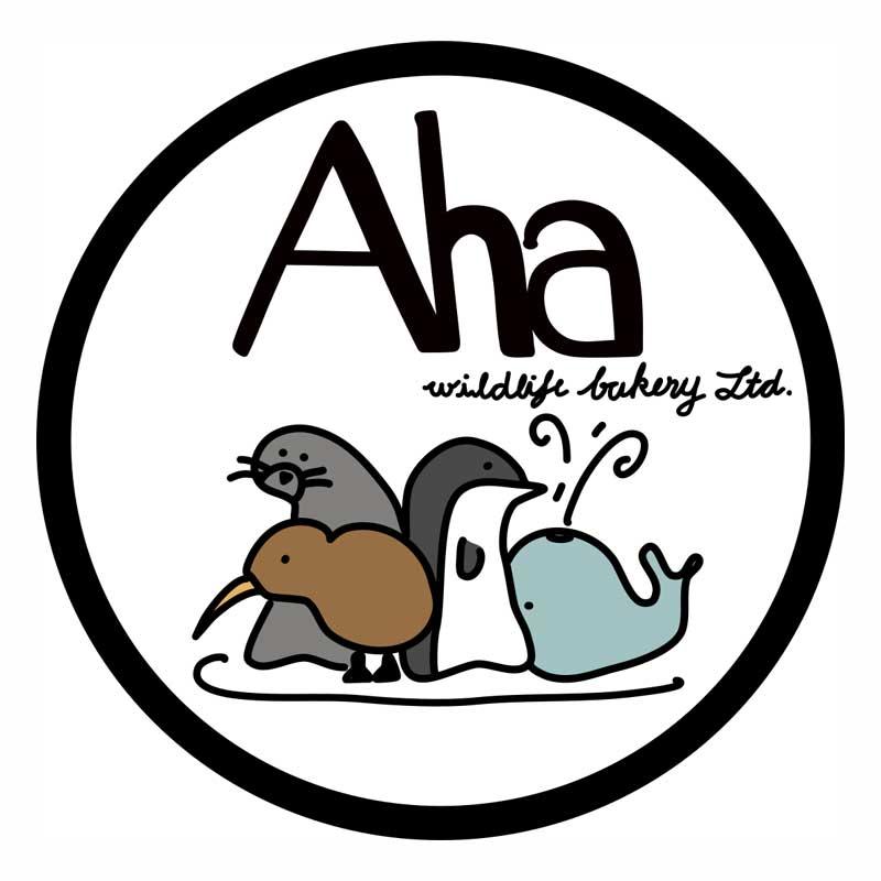 Aha Wildlife Bakery Logo