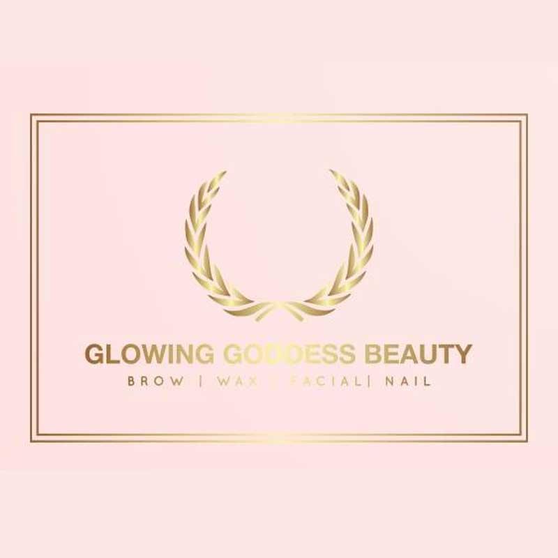 Glowing Goddess Beauty Logo
