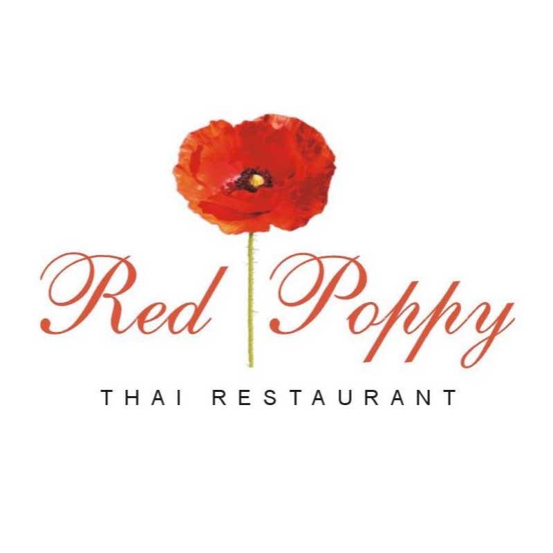 Red Poppy Thai Logo