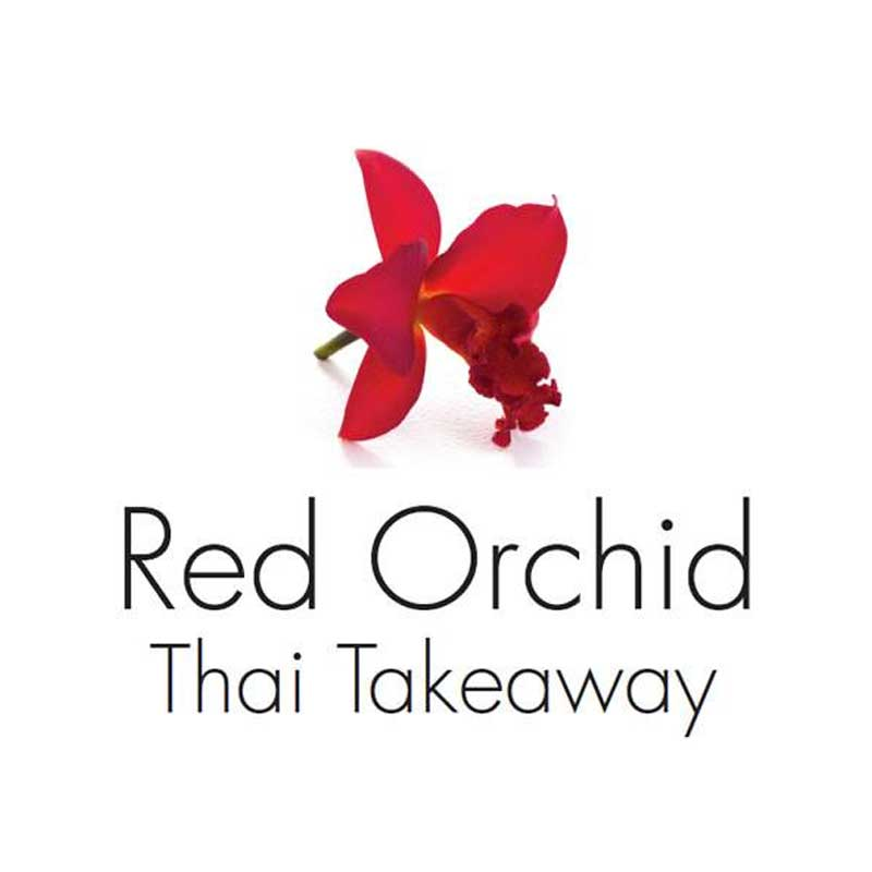Red Orchid Thai Takeaway Logo